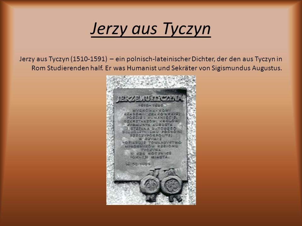 Jerzy aus Tyczyn