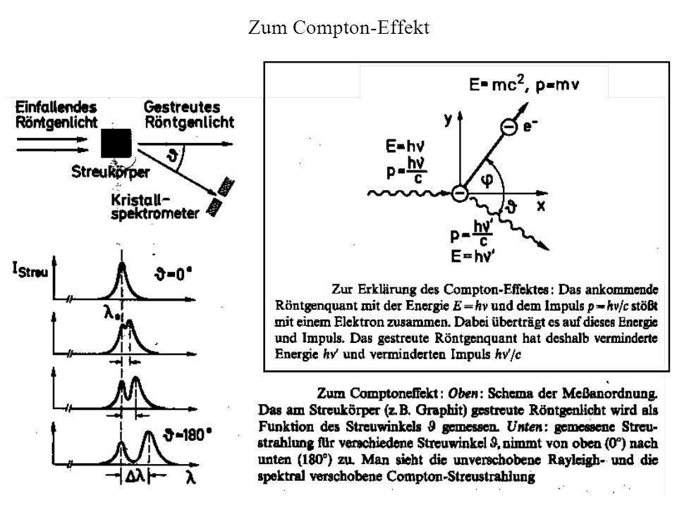 Zum Compton-Effekt