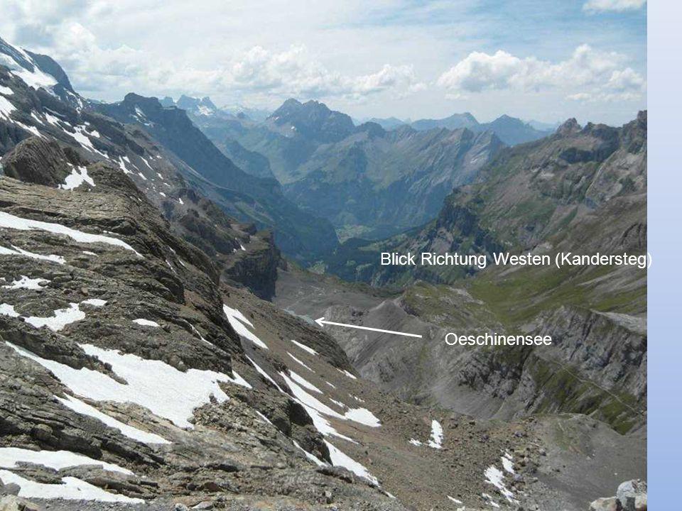 Blick Richtung Westen (Kandersteg)