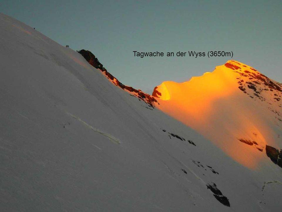 Tagwache an der Wyss (3650m)