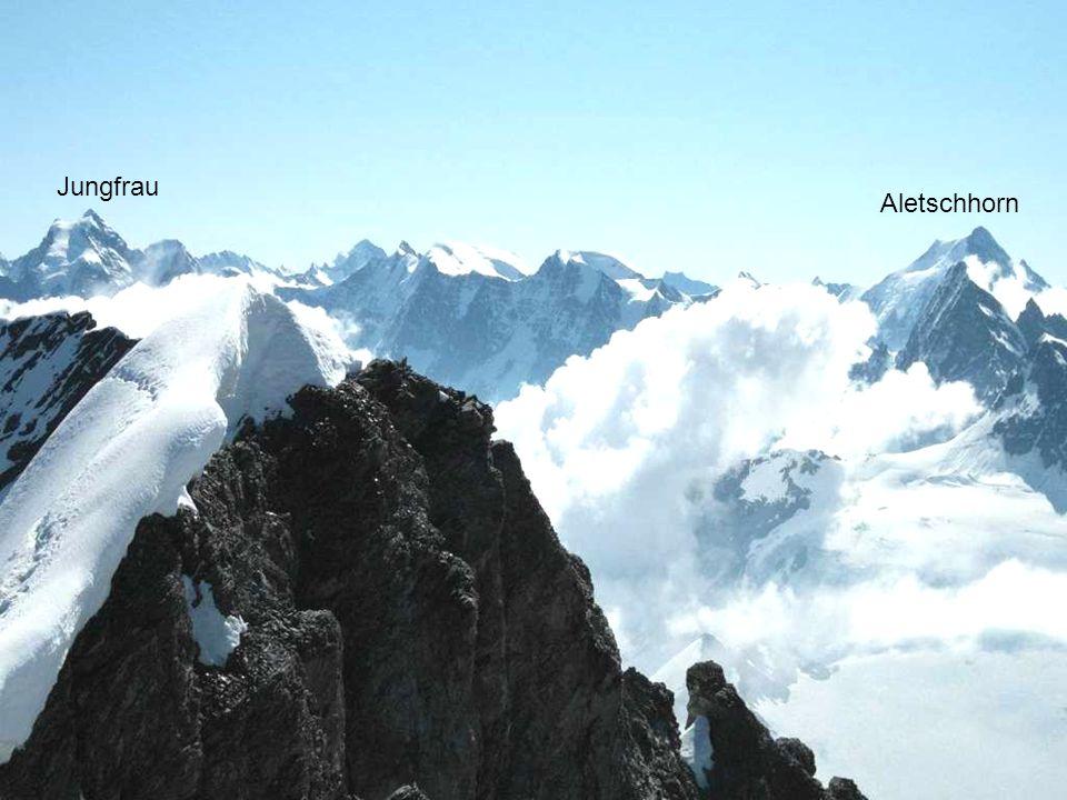 Jungfrau Aletschhorn Aletschhorn