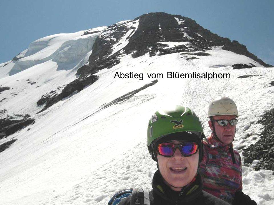 Abstieg vom Blüemlisalphorn