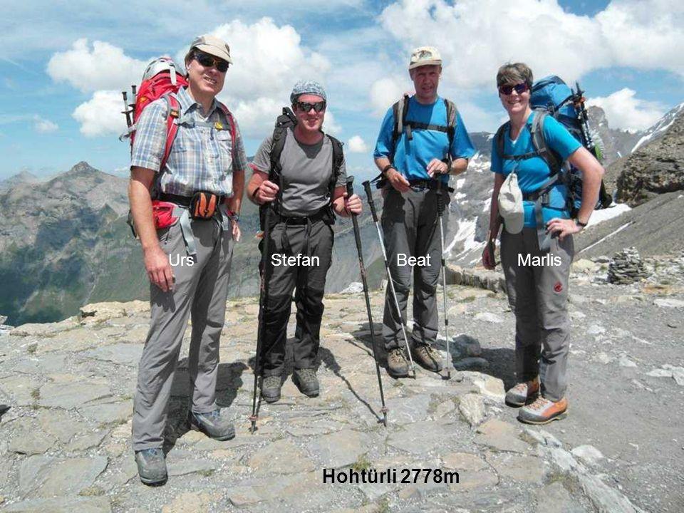 Urs Stefan Beat Marlis Hohtürli 2778m