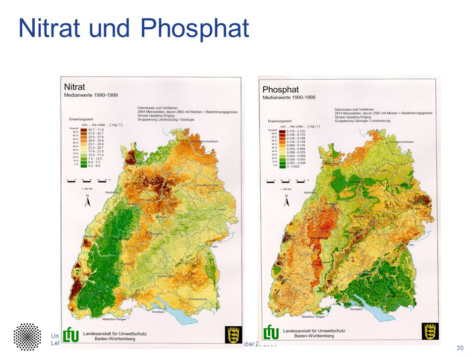 Nitrat und Phosphat