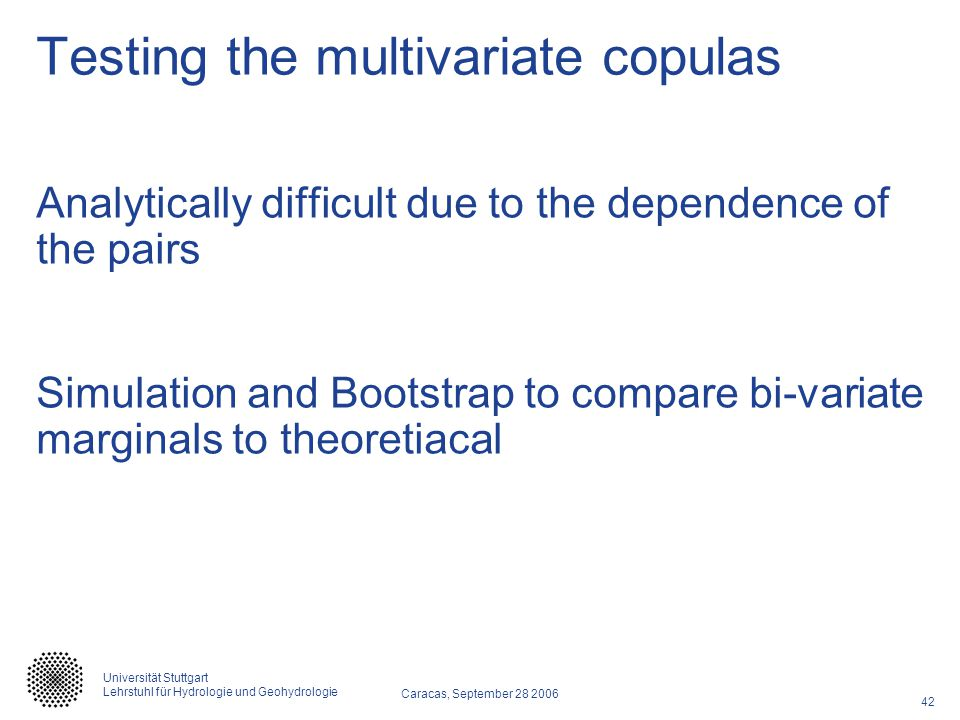 Testing the multivariate copulas