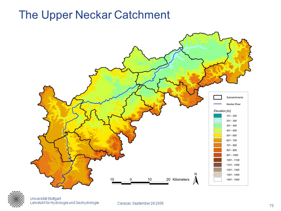 The Upper Neckar Catchment