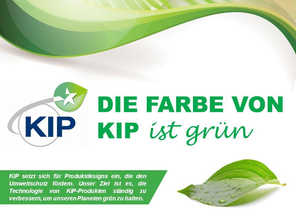 DIE FARBE VON KIP ist grün