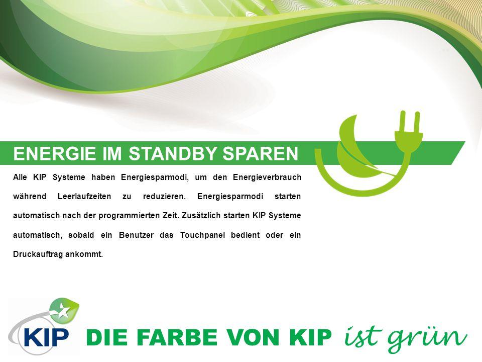 ENERGIE IM STANDBY SPAREN