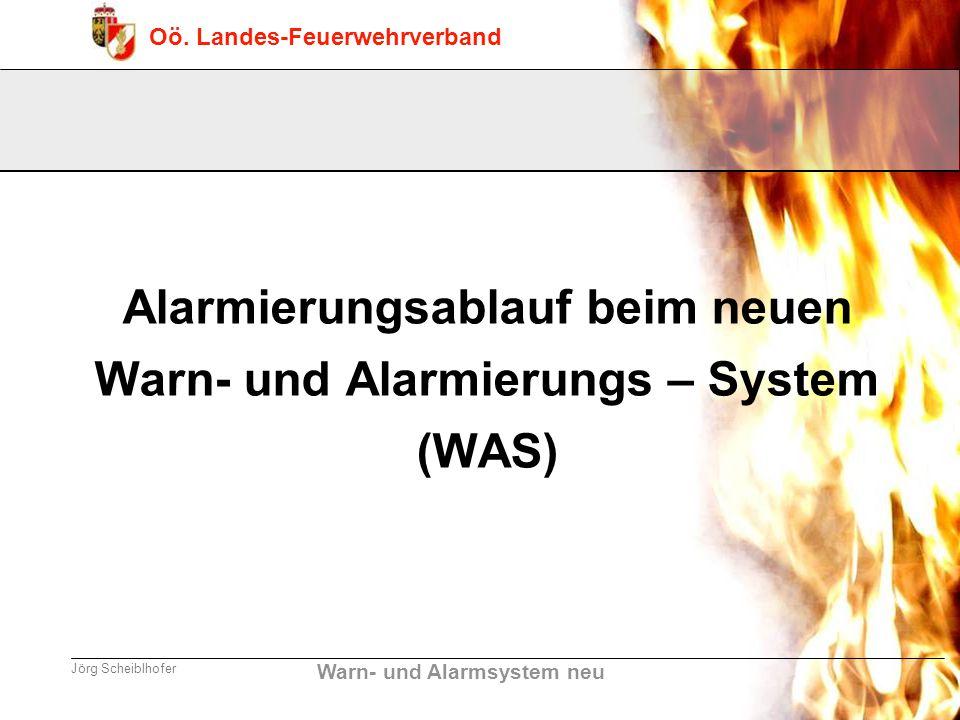 Alarmierungsablauf beim neuen Warn- und Alarmierungs – System (WAS)