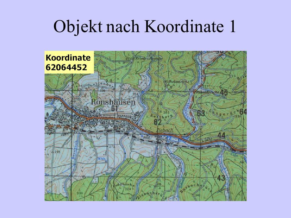 Objekt nach Koordinate 1