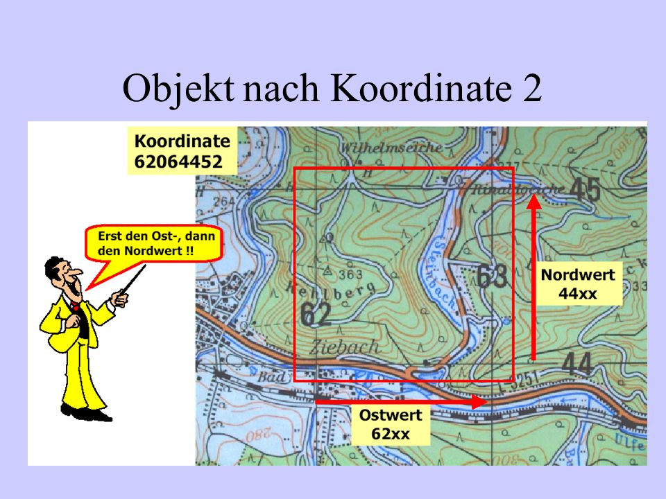 Objekt nach Koordinate 2
