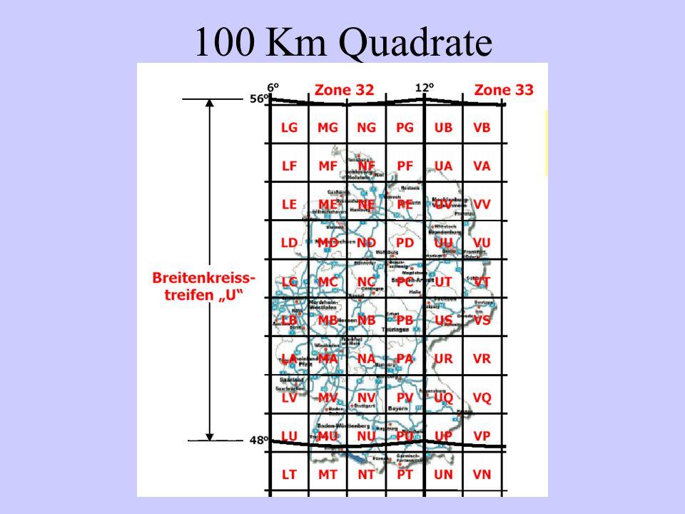 100 Km Quadrate