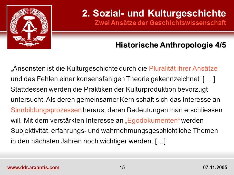 2. Sozial- und Kulturgeschichte