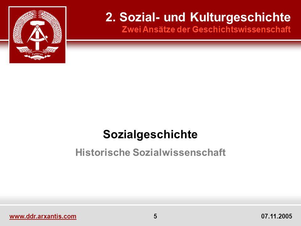Historische Sozialwissenschaft