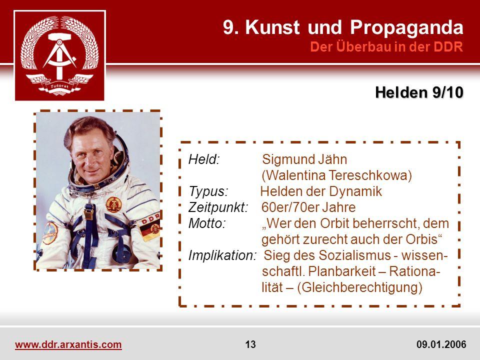 9. Kunst und Propaganda Helden 9/10 Der Überbau in der DDR