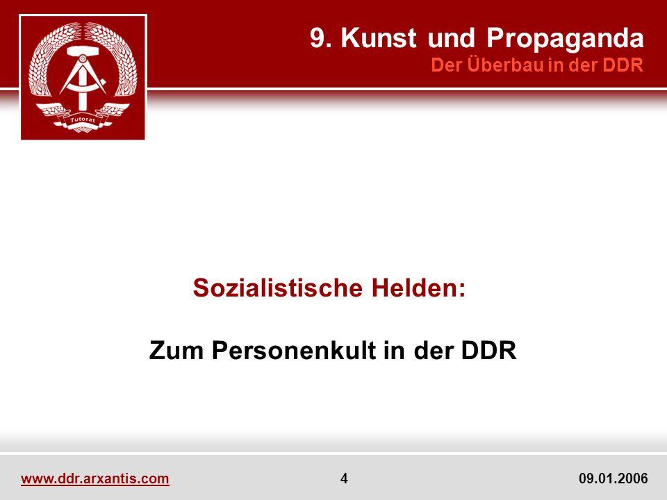 Sozialistische Helden: Zum Personenkult in der DDR