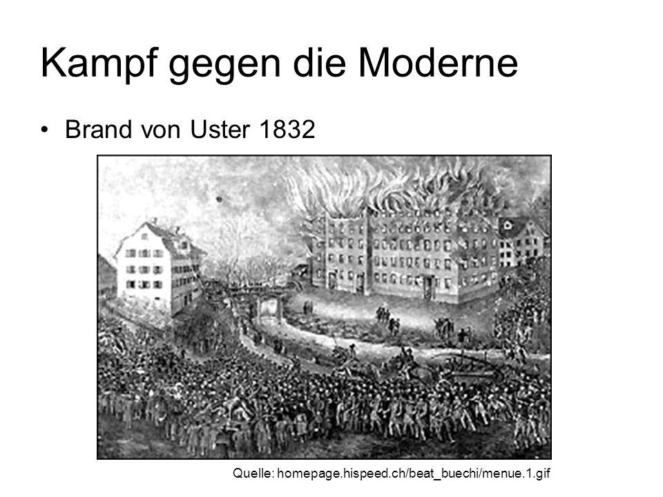 Kampf gegen die Moderne