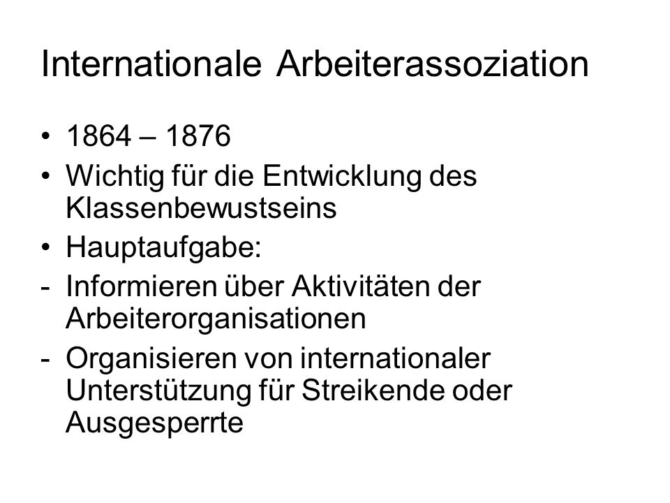 Internationale Arbeiterassoziation
