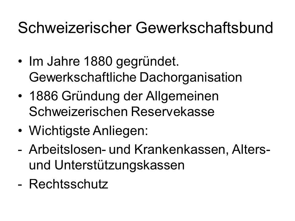 Schweizerischer Gewerkschaftsbund