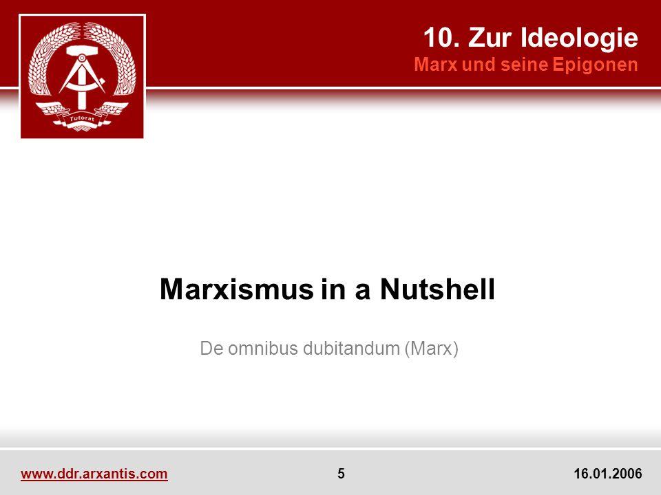Marxismus in a Nutshell