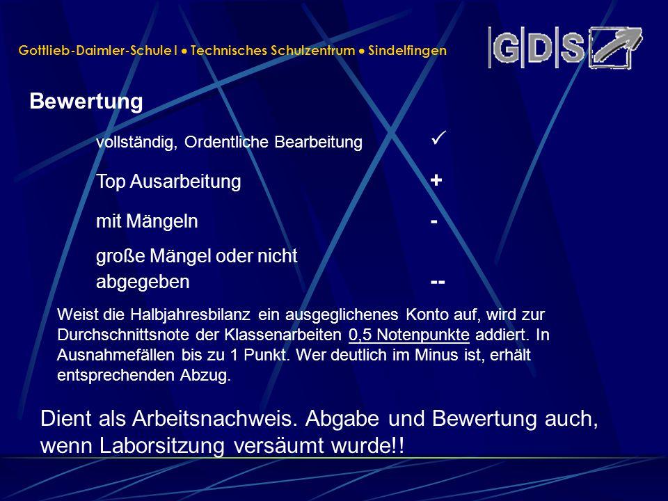 Gottlieb-Daimler-Schule I  Technisches Schulzentrum  Sindelfingen