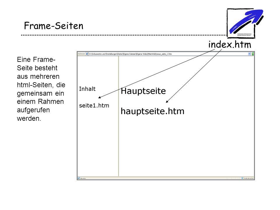 Frame-Seiten index.htm