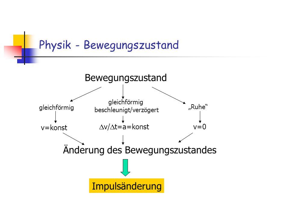 Physik - Bewegungszustand