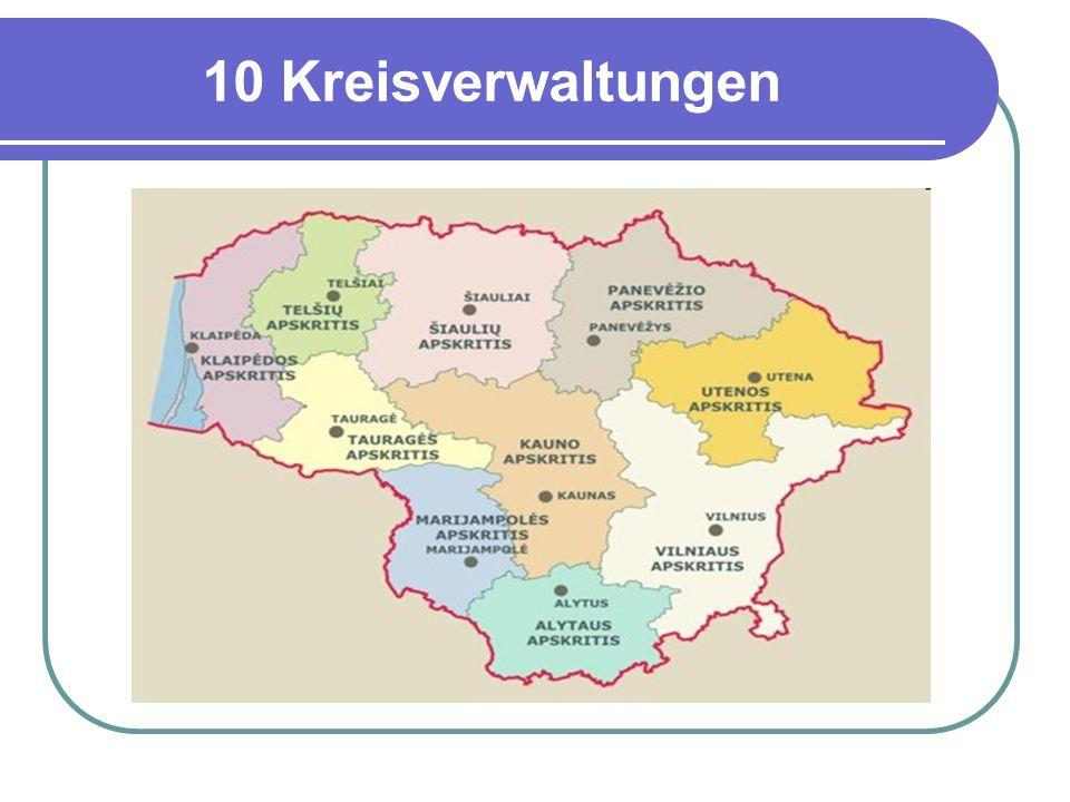 10 Kreisverwaltungen