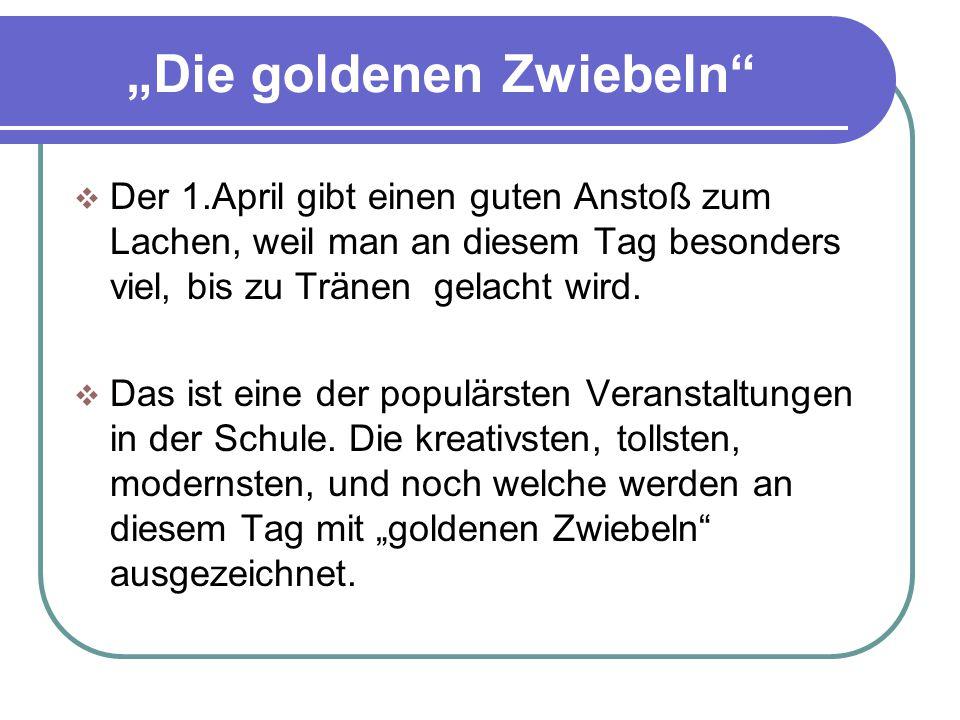 """""""Die goldenen Zwiebeln"""