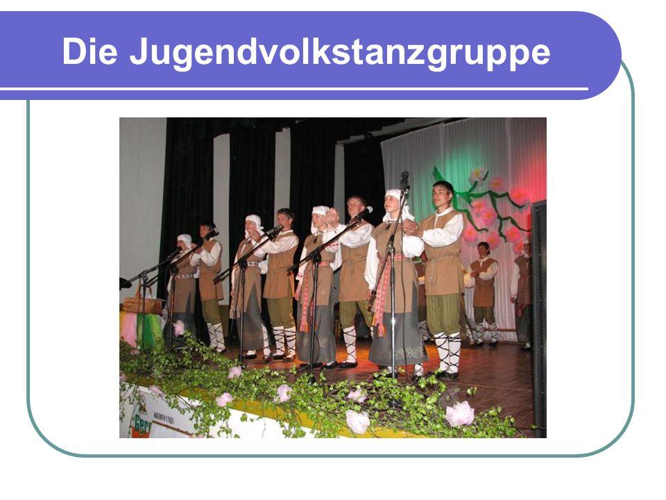Die Jugendvolkstanzgruppe