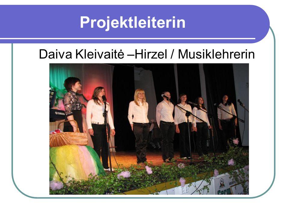 Daiva Kleivaitė –Hirzel / Musiklehrerin