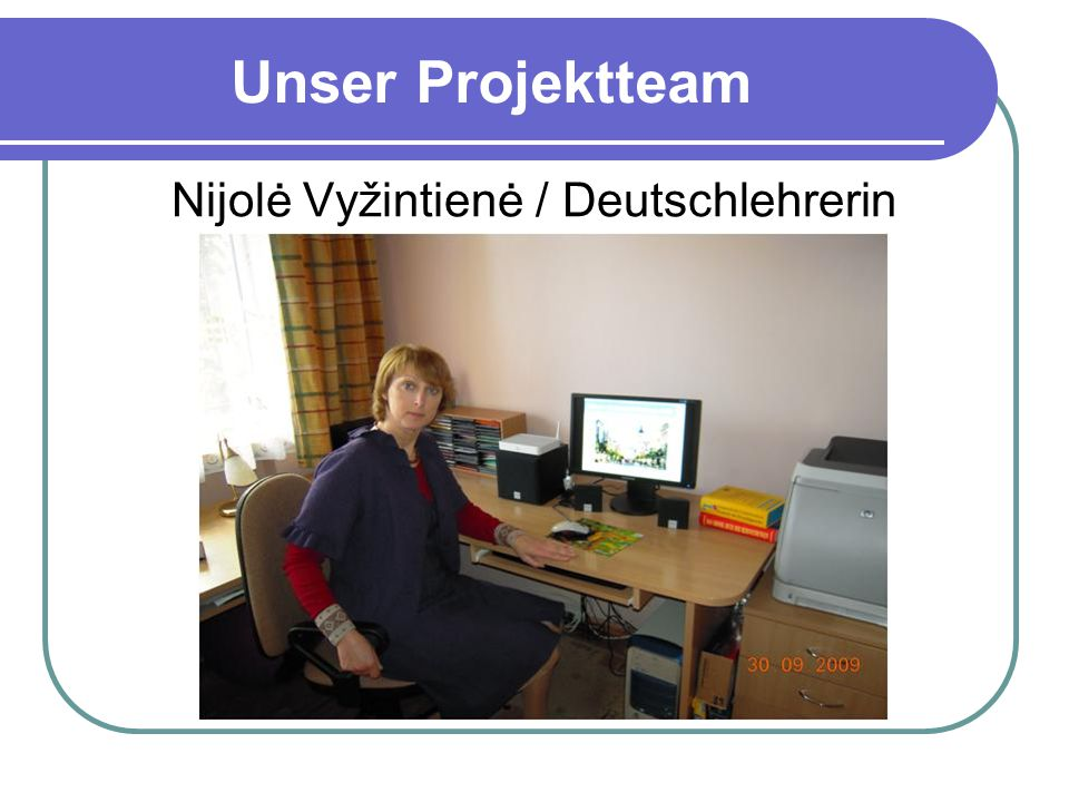 Nijolė Vyžintienė / Deutschlehrerin