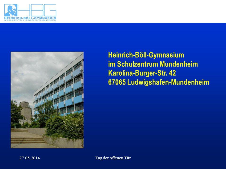 Heinrich-Böll-Gymnasium im Schulzentrum Mundenheim Karolina-Burger-Str