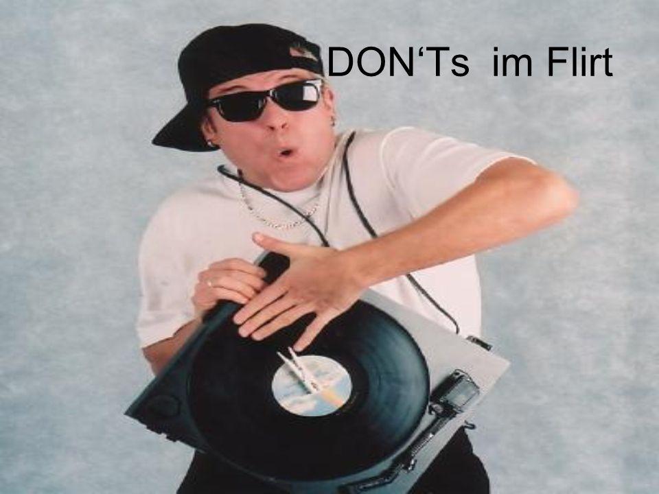 DON'Ts im Flirt