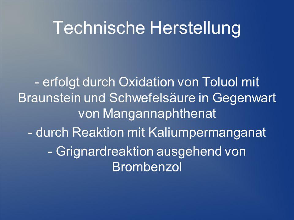 Technische Herstellung