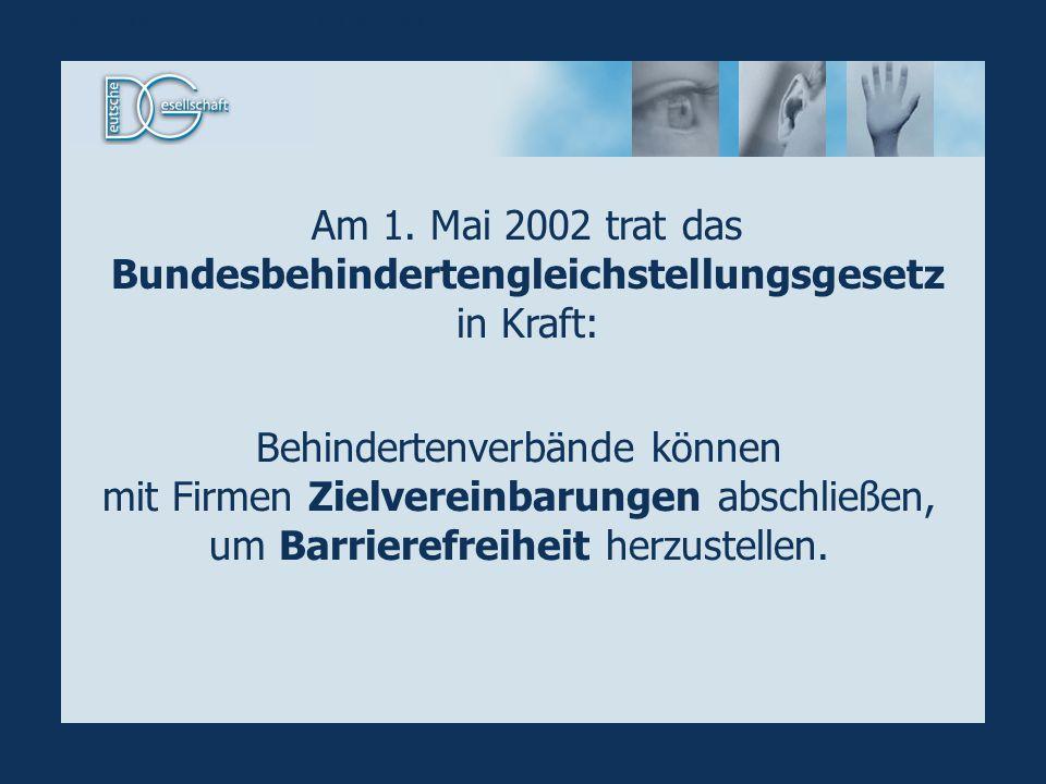 Gleichstellungsgesetz / Zielvereinbarung