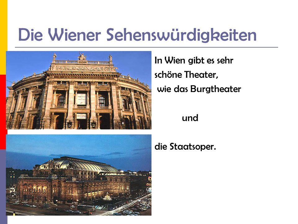 Die Wiener Sehenswürdigkeiten