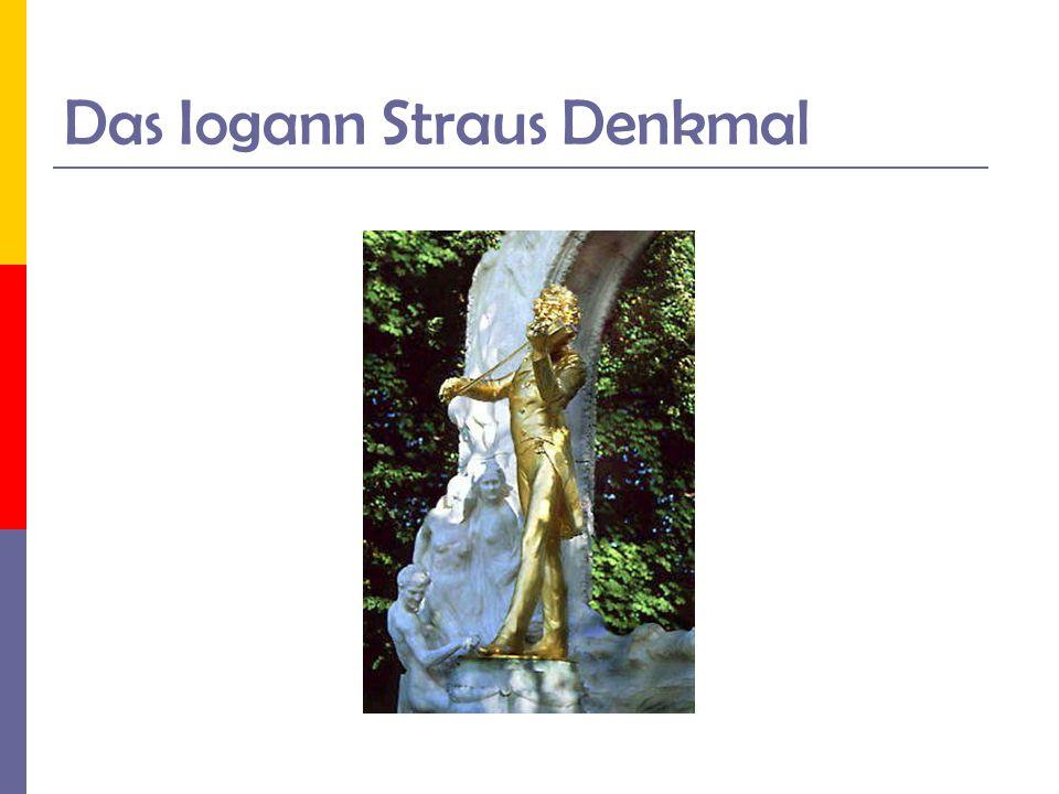 Das Iogann Straus Denkmal