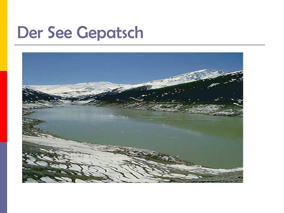 Der See Gepatsch