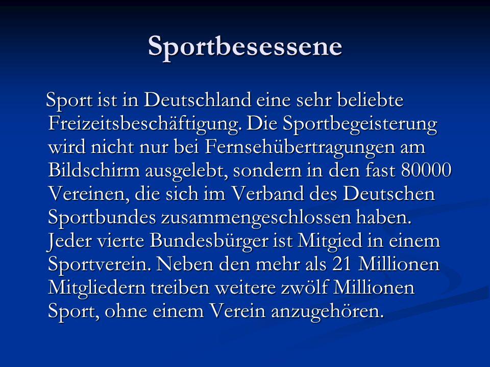 Sportbesessene