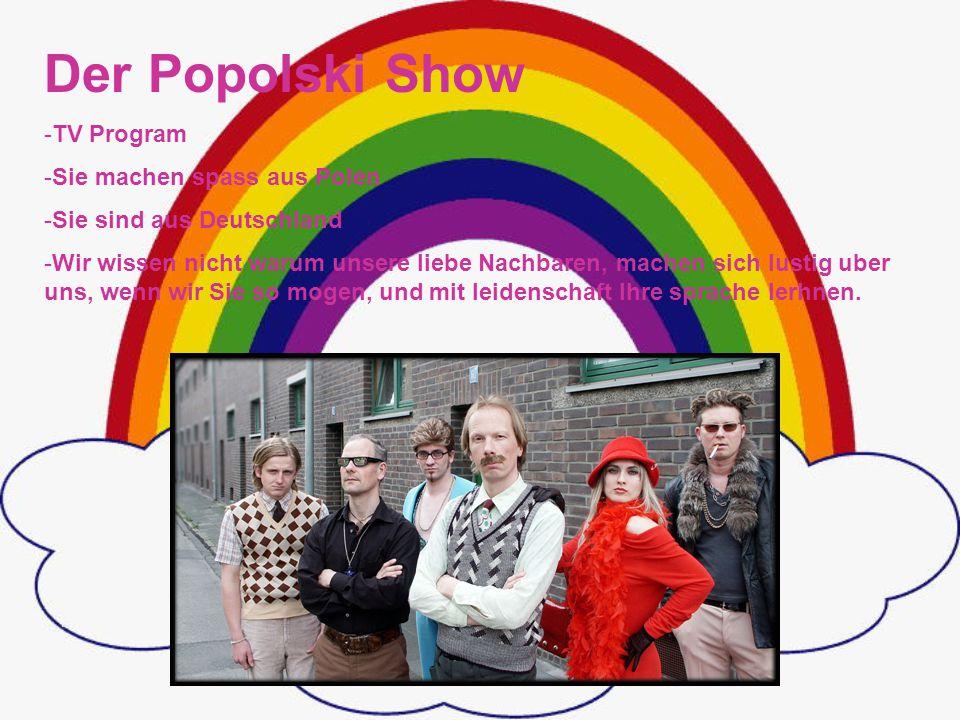 Der Popolski Show TV Program Sie machen spass aus Polen