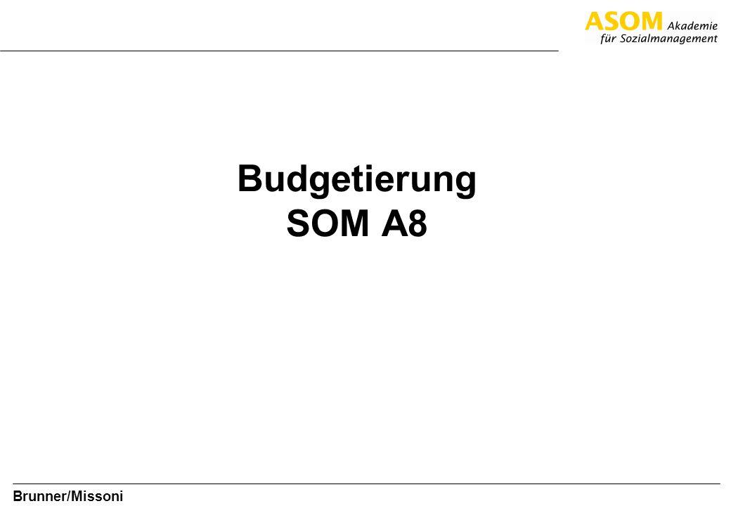 Budgetierung SOM A8