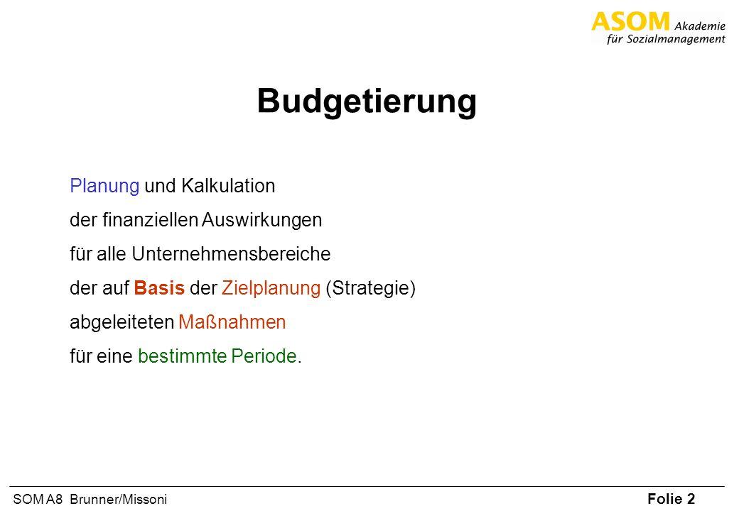 Budgetierung Planung und Kalkulation der finanziellen Auswirkungen