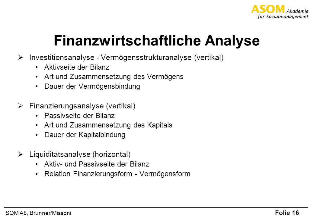 Finanzwirtschaftliche Analyse