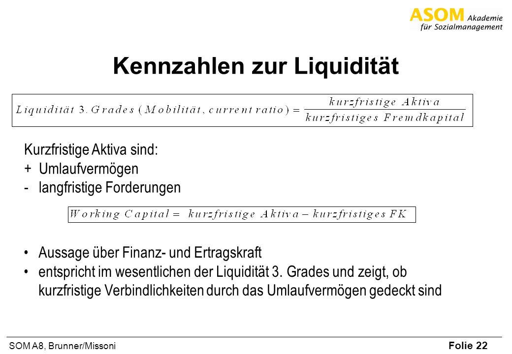 Kennzahlen zur Liquidität