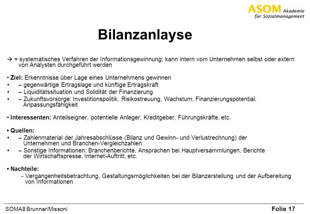 Bilanzanlayse
