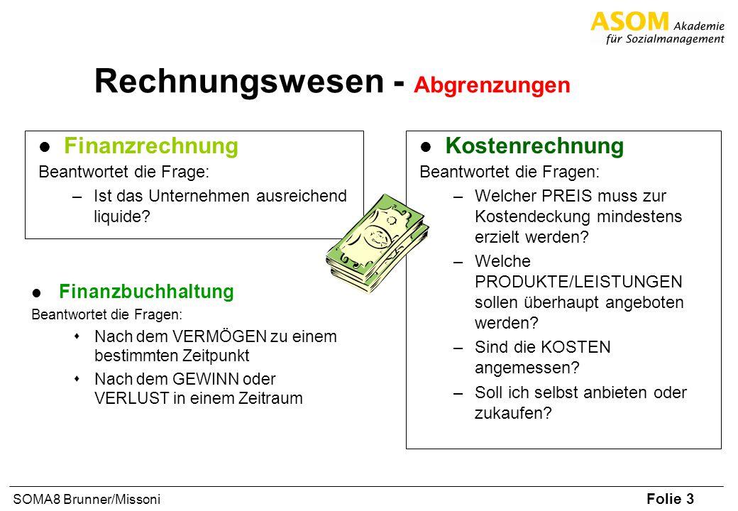 Rechnungswesen - Abgrenzungen