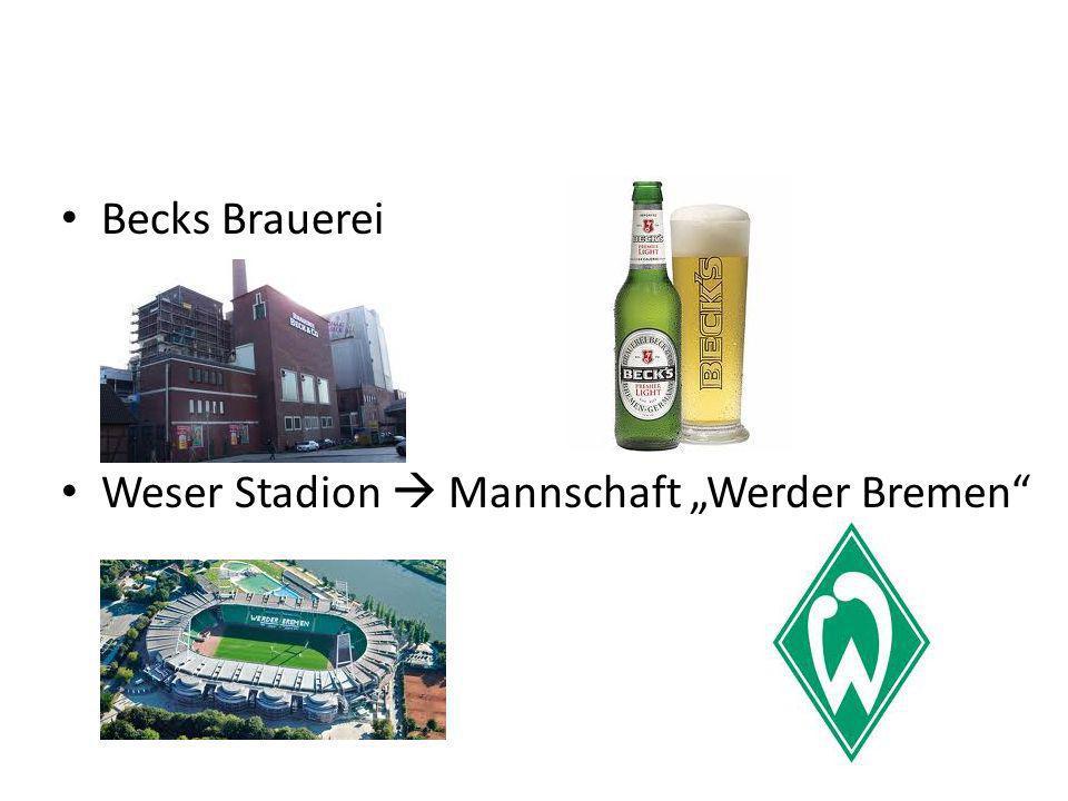 """Becks Brauerei Weser Stadion  Mannschaft """"Werder Bremen"""