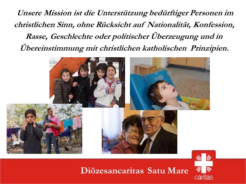 Unsere Mission ist die Unterstützung bedürftiger Personen im christlichen Sinn, ohne Rücksicht auf Nationalität, Konfession, Rasse, Geschlechte oder politischer Überzeugung und in Übereinstimmung mit christlichen katholischen Prinzipien.
