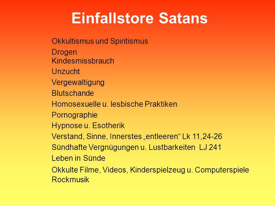 Okkultismus und Spiritismus
